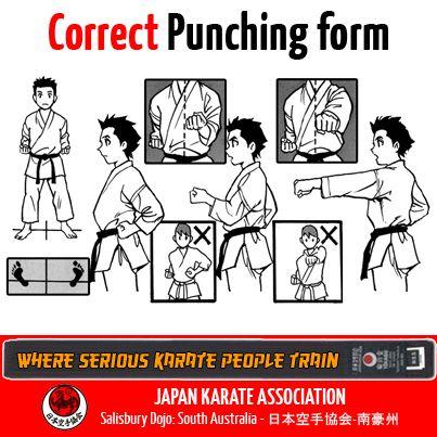 Correct Punch - #JKA #Karate