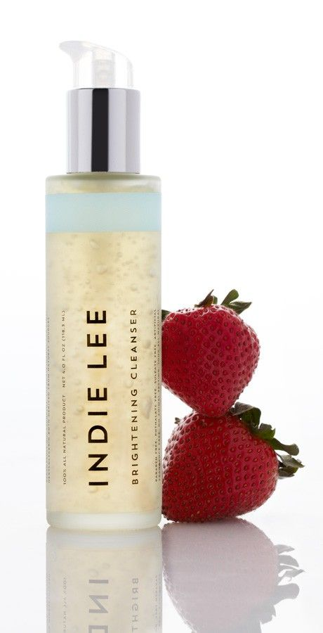 BRIGHTENING CLEANSER An antioxidant rich and refreshing cleanser and eye makeup remover that exudes a light strawberry aroma, naturally wash...