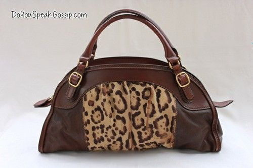 Valentino brown leather bag with leopard fur look (second hand) FOR SALE ON MY SHOP. Click on the picture to see more photos and details and shop it now! doyouspeakgossip.tictail.com