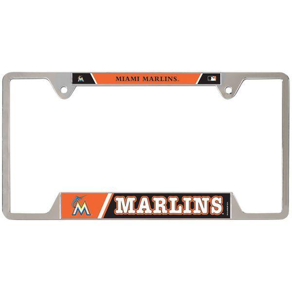 Miami Marlins WinCraft License Plate Frame