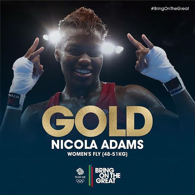 #Gold! She does it! Amazing fight from Nicola Adams and she is a Double Olympic Flyweight Boxing Champion after defending her London2012 Crown in Rio! Congratulations Nicola! 👊👊👏👌#Boxing #BringOnTheGreat