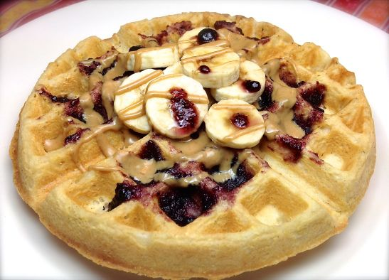 Vegan Classic Waffle | Vegan family and friends | Pinterest