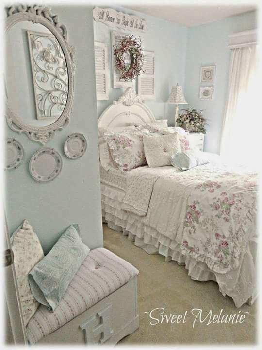 Spare bedroom in the farmhouse