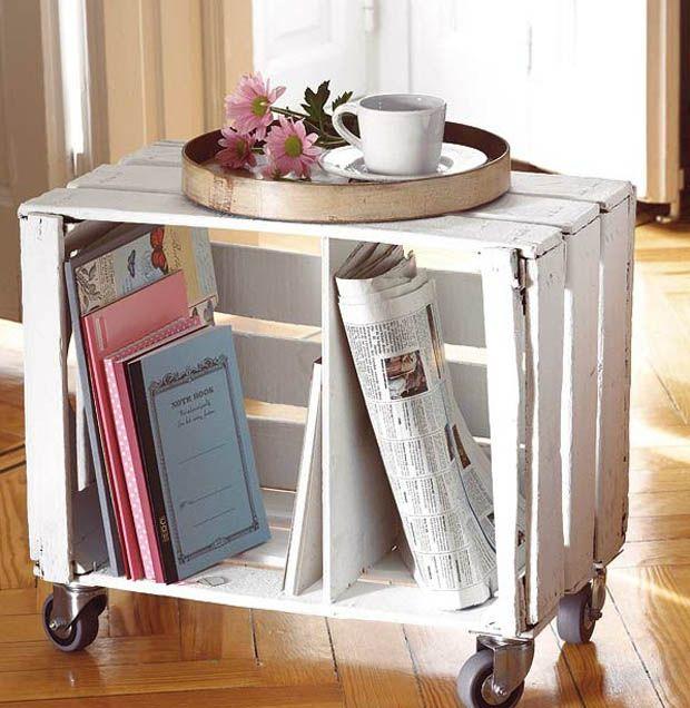 ืdiy coffee table idea and super easy to move. Cute in a Tweens room