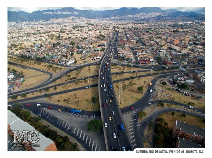 Av. 1ro de Mayo con Av. 68. Bogotá D.C.