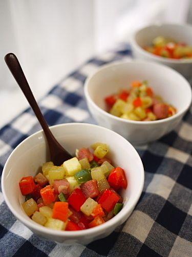 新サラダ時代に乗り遅れるな!チョップドサラダレシピ10選|CAFY [カフィ]
