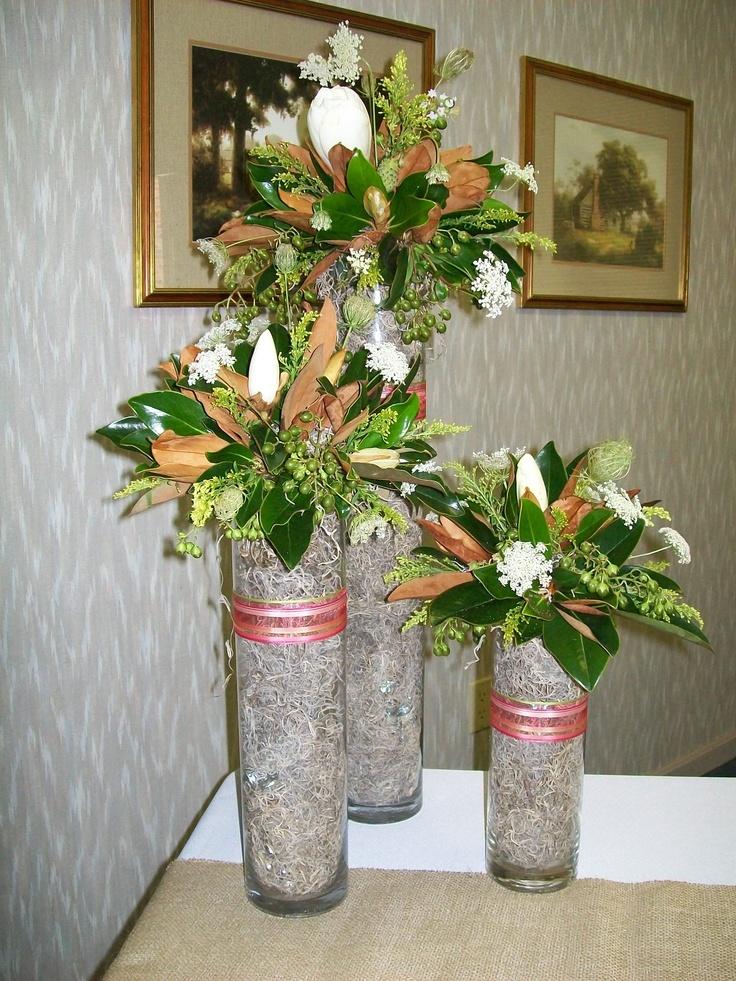 Bridal shower arrangement I made