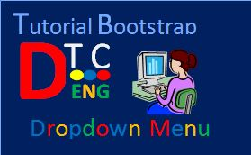 Dropdown Menu with Bootsrap | Detailed Technology Center