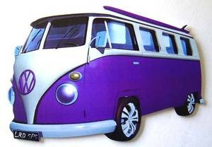 Purple! I've always wanted a VW Bus!!! =]]]
