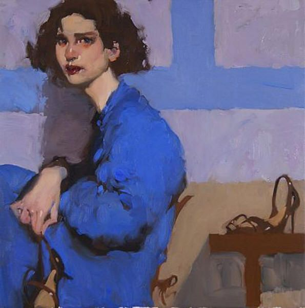 Love Milt Kobayashi's work! Reminds me of Toulouse-Lautrec #painter #art #artist