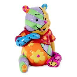 Disney by Britto Winnie the Pooh Miniature Figurine,