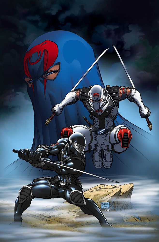 Snake Eyes and Storm Shadow | The Galaxy Junkyard: Image of the Day: Storm Shadow vs. Snake Eyes