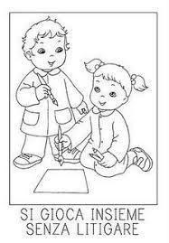 Risultati immagini per regole infanzia da colorare