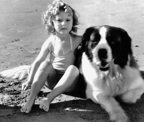 Shirley Temple | Classic Movie Stars Spending Time With Their Pets