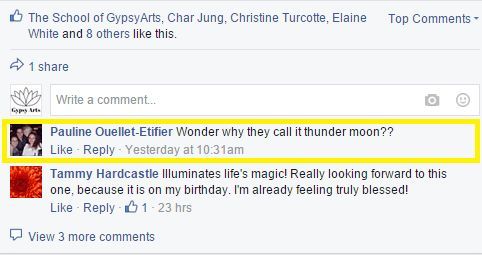 Thunder Moon Question
