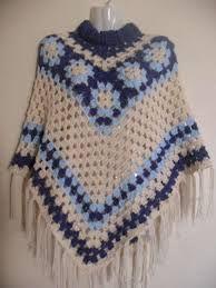 Resultado de imagen para patrones de ponchos al crochet