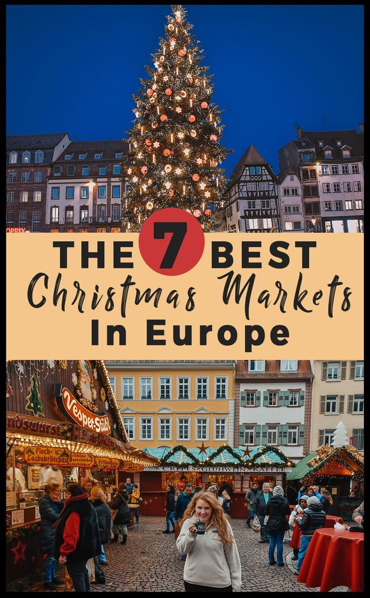 The 7 best christmas markets in europe. What to see, do, eat and where to find the best holiday cheer in Europe at Christmas time! #europe #christmas #christmasmarkets #travel