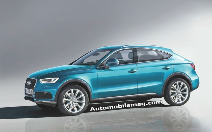 2014 Audi Q4 rendered, Range Rover Evoque competitor