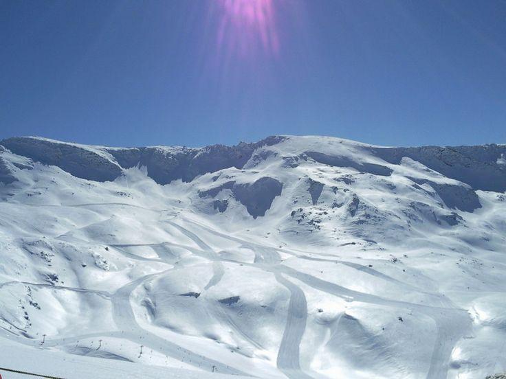Sabías que Sierra Nevada es considera una de las mejores estaciones de sky españolas!