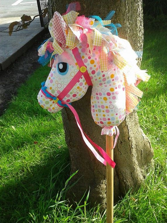Handmade Hobby Horse Whimsywoo design by CBshabbychicGifts, £38.00