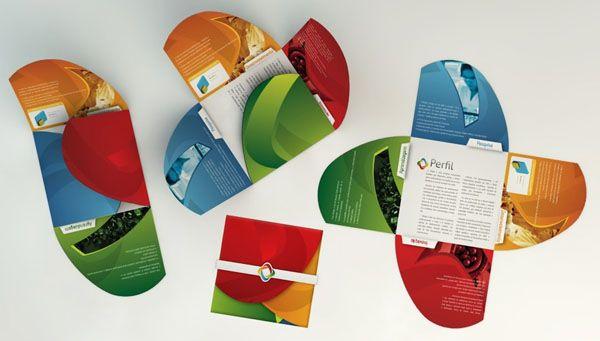 Clean Modern Brochures Examples