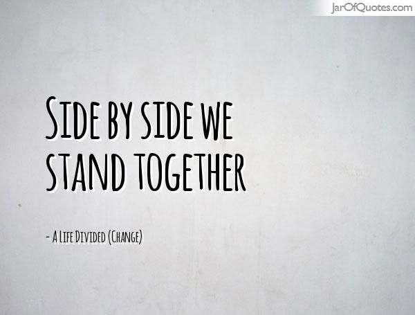 Image result for quotes together we stand