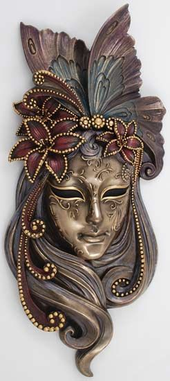 Venatian maskMasks Ideas, Masks Face, The Face, Venetian Masks Art, Masks Of The World, Wall Masks, Mardi Gras, Fantasy Mask, Beautiful Masks