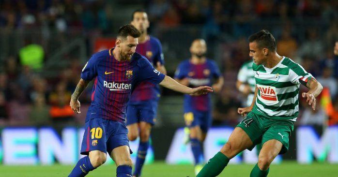 Transmision Barcelona vs Eibar en vivo en HD por LaLiga 17/02/2018 - Ver partido Barcelona vs Eibar en vivo online 17 de febrero del 2018 por LaLiga Santander de España. Resultados horarios canales y goles del partido en directo online no se lo pierdan.