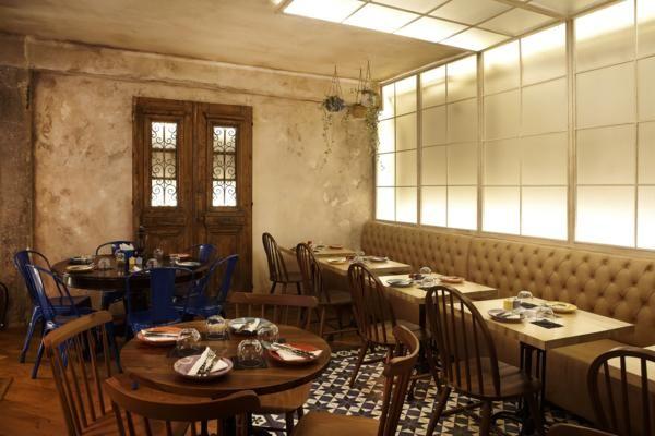 PARA SIEMPRE wine & tapas bar / Athens / interior & furniture design by Dimitra Koutoulogeni