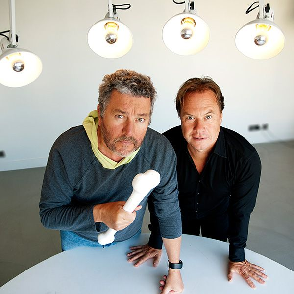 "Sur l'union entre Starck et Hitchcox. ""How We Met: Philippe Starck & John Hitchcox"""