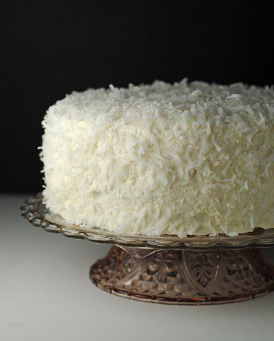 BEST BUTTERCREAM FROSTING YOU WILL EVER HAVE!! Coconut Cake with Coconut Buttercream Frosting ~ Easter + Passover #SundaySupper!