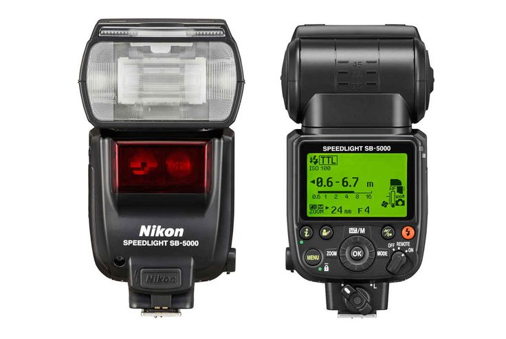 Nikon SB-5000 Speedlight with Radio Triggering