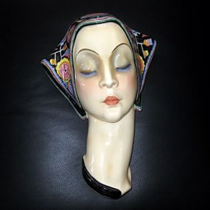 1000 Images About Art Deco Wall Masks 1920 S 1950 S On