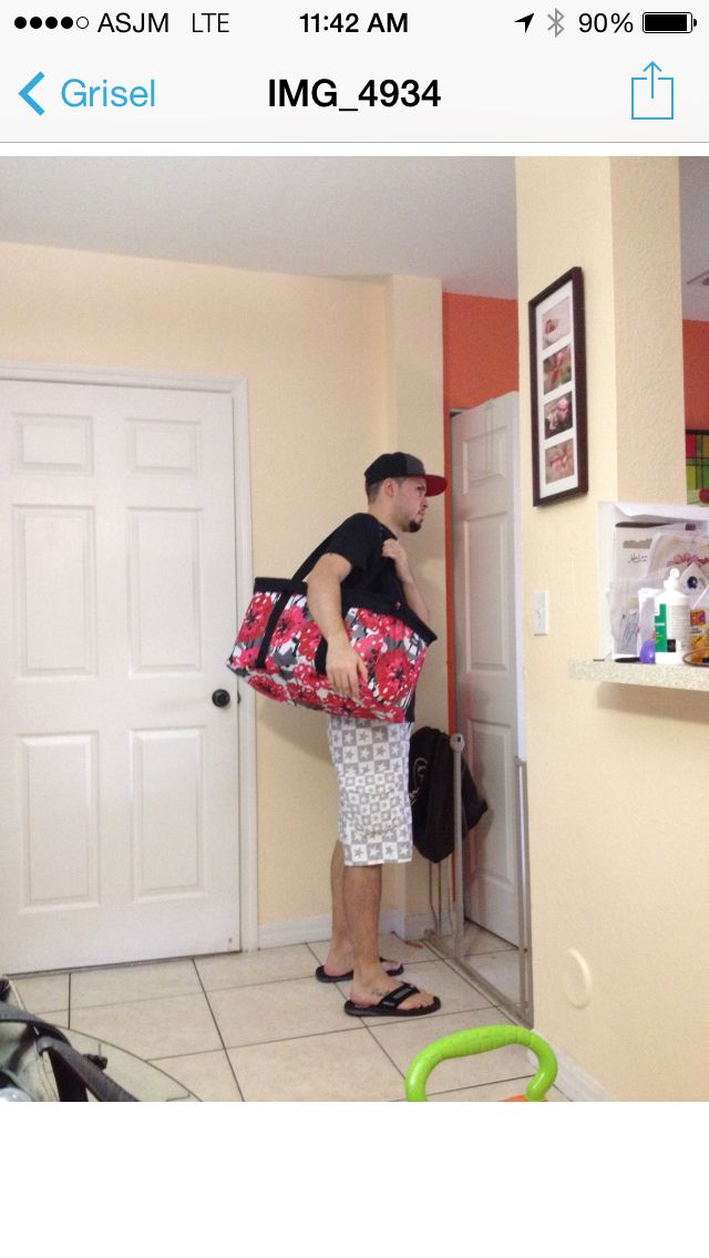 Behind every good man there is a smart woman that will bring Thirty-One bags into his life to make his haul to the beach easier and in style!