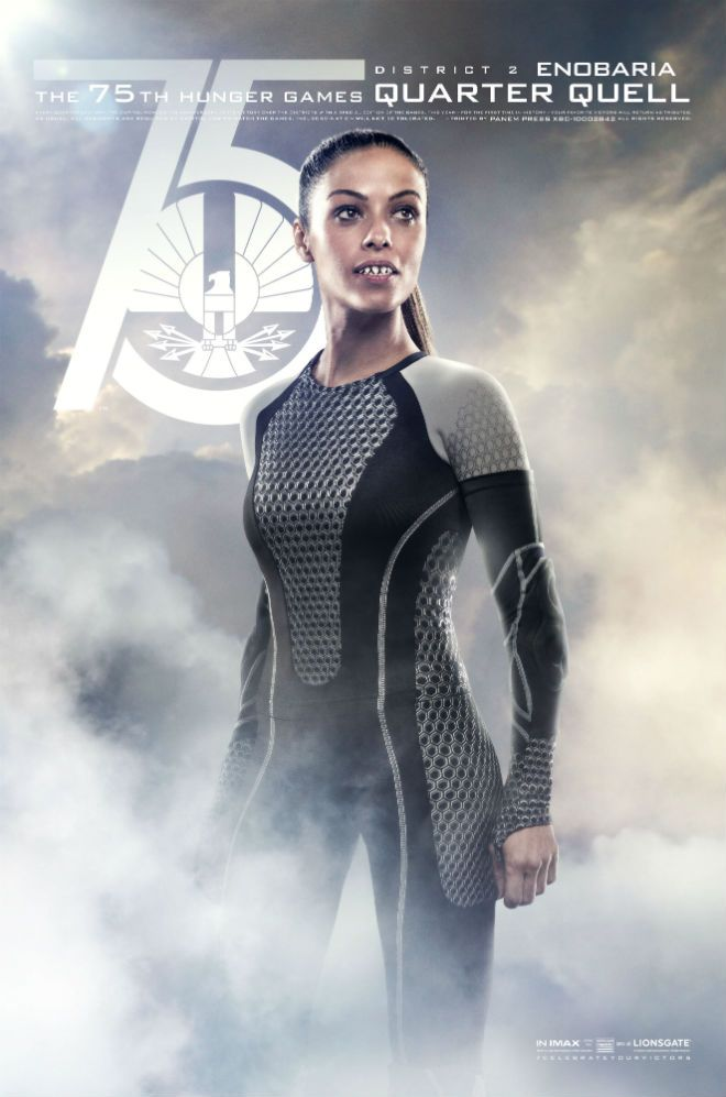 Exclusive New Poster: The 75th Hunger Games Quarter Quell - Enobaria