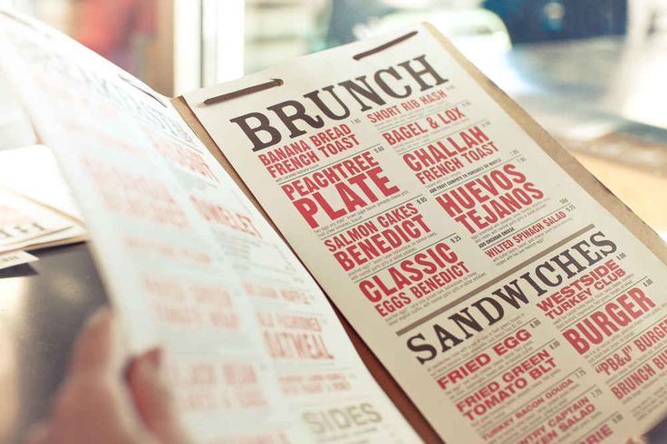 Restaurants have menu design down to a science. They even know where on the menu you'll look first.