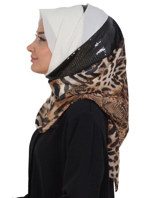 Shawl Code: AS-0013 Muslim Women Hijab Scarf by HAZIRTURBAN