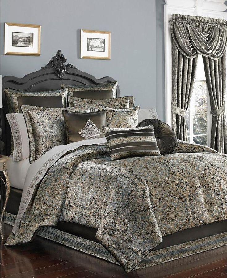 J Queen New York Bridgeport Spa Queen Comforter COMPLETE