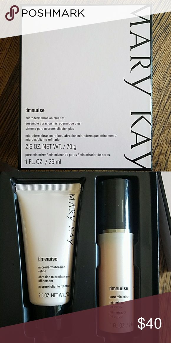 Nwt Mary Kay Timewise Microdermabrasion Plus Set Nwt