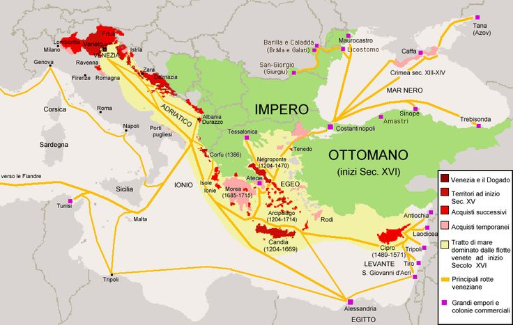 From Wikiwand: Territories of the Republic of Venice in the 15th and 16th…