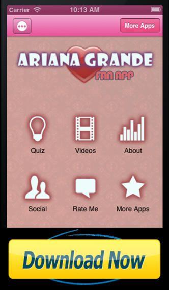 ariana grande's phone number