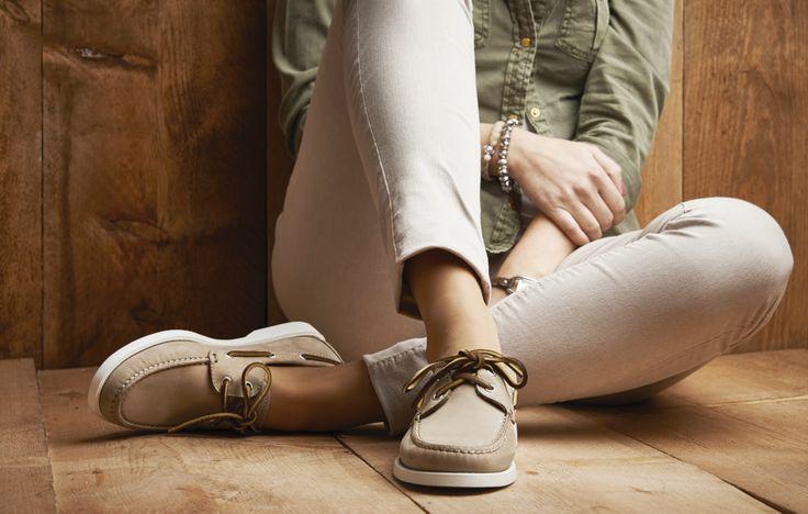 SHOEPASSION.com – szarobrązowe buty żeglarskie