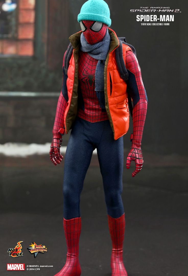 SPIDER-MAN 1/6th SCALE COLLECTIBLE FIGURE - THE AMAZING SPIDER-MAN 2   Toys   Film   By: Hot Toys   Country: Hong Kong   #TheAmazingSpiderMan2 #film #toys