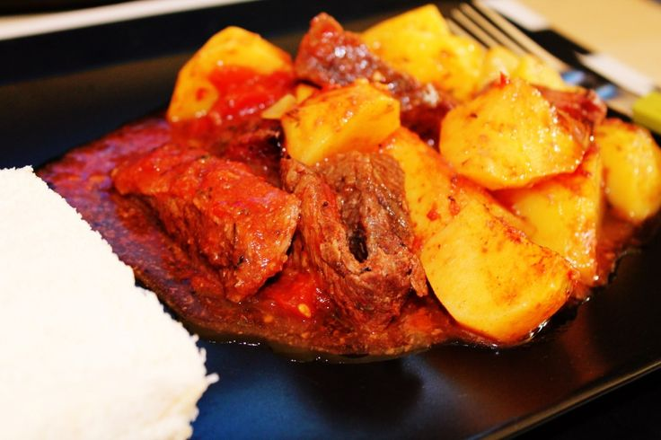 Beef and potato dish