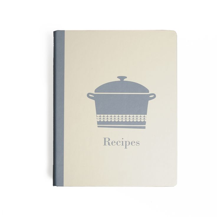 #recipe #notebook | Dille & Kamille