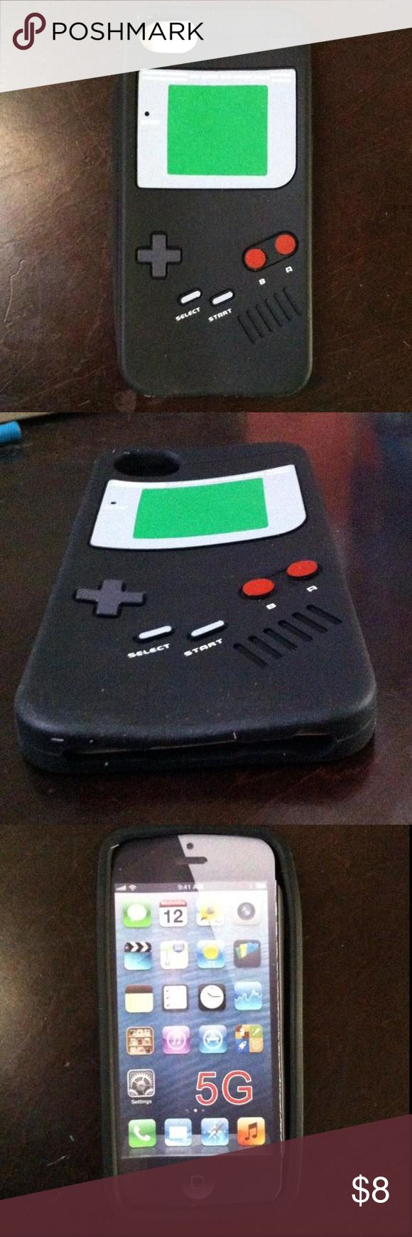 Black Gameboy iPhone 5G case New. It's a black Gameboy iPhone 5G case Accessories Phone Cases