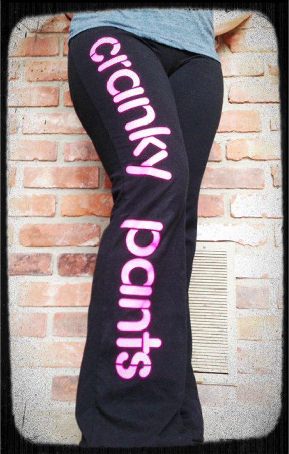 Cranky Pants Yoga Style - Full Leg