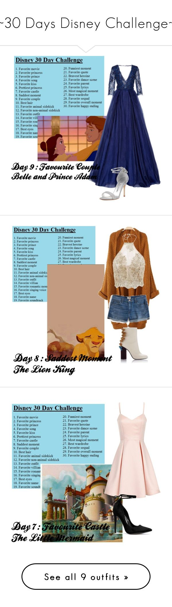 """~30 Days Disney Challenge~"" by ellmoonlightqueen ❤ liked on Polyvore featuring Disney, Manolo Blahnik, J.Crew, Girls On Film, STELLA McCARTNEY, Alexander Wang, Yves Saint Laurent, self-portrait, Lands' End and Common Projects"