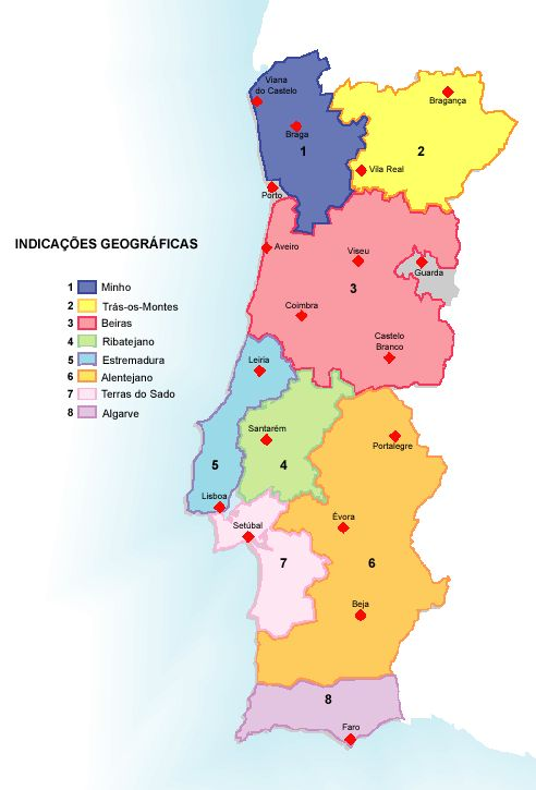 Best Wine Country Of Portugal Images On Pinterest Wineries - Portugal estremadura map