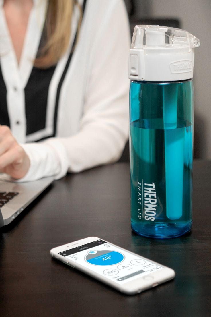 Tracking your water intake shouldn't be work. Our new 24 oz Connected Hydration Bottle with Smart Lid uses Bluetooth technology to monitor and track your water intake!